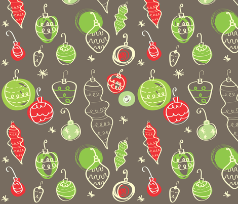 holiday cheer! fabric by fable_design on Spoonflower - custom fabric