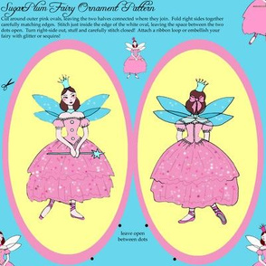Sugarplum Fairy Christmas Ornament