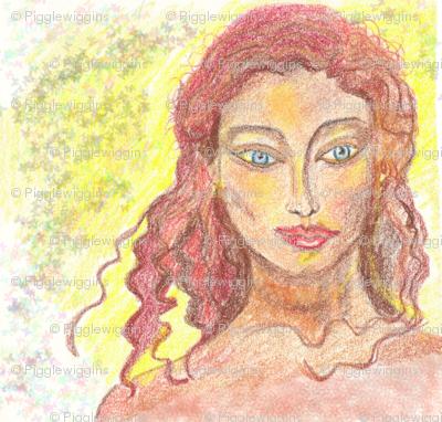crayon redhead