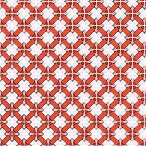 Tori's Crosses and Bars fabric by siya on Spoonflower - custom fabric