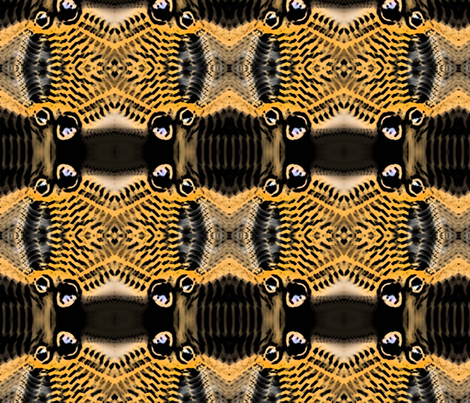 Voodoo Butterfly fabric by elephant_booty_studio on Spoonflower - custom fabric