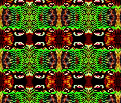 Voodoo Butterfly III fabric by elephant_booty_studio on Spoonflower - custom fabric