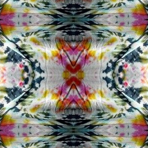 Multi Colored Saturated Tie Dye