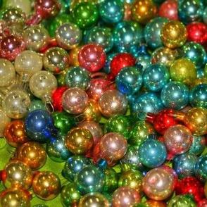 Vivid Vintage Christmas Balls