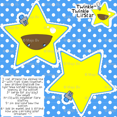 Twinkle-Twinkle Lil'Star ornament