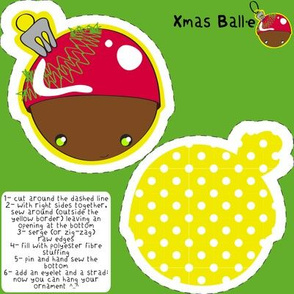 Xmas Ball·e ornament
