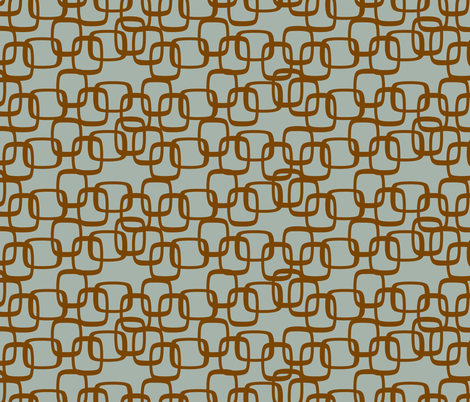 ModSquaresBrnOnSea fabric by ghennah on Spoonflower - custom fabric