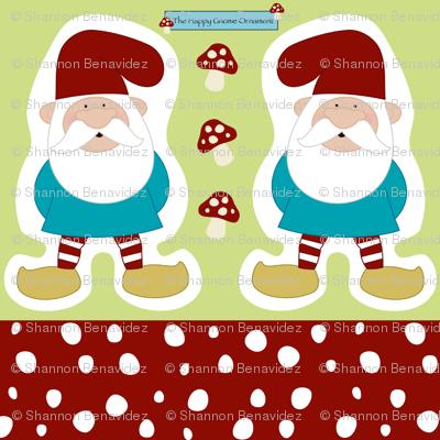 The Happy Gnome Ornament