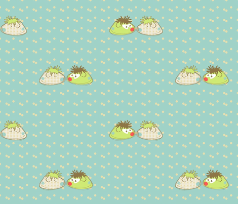 little guineas fabric by kato_kato on Spoonflower - custom fabric