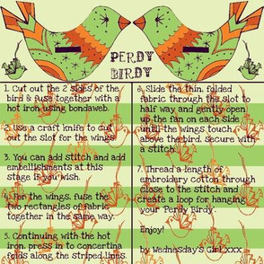perdy birdy autumn colours