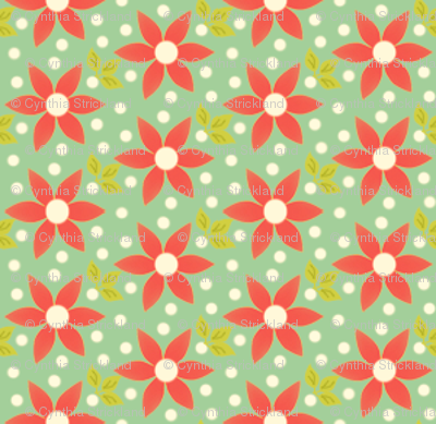 Island Ditzy Floral