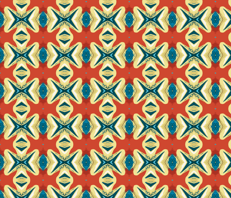 Swimming the Channel fabric by susaninparis on Spoonflower - custom fabric