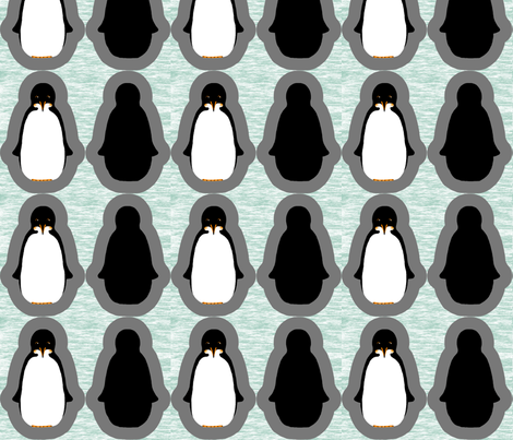 A Plethora of Pocket Penguins fabric by victorialasher on Spoonflower - custom fabric
