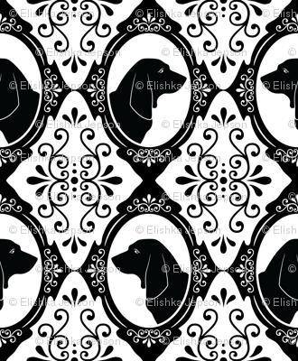 The Regal Basset Hound (Black)
