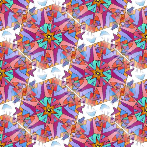 mandala_copied_and_tiled fabric by vinkeli on Spoonflower - custom fabric