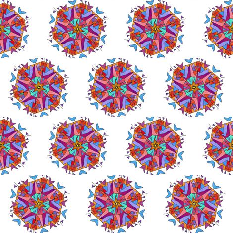 mandala_in_bright_colors fabric by vinkeli on Spoonflower - custom fabric