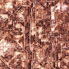 Steampunk Maze 1, L