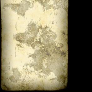 Steampunk Map, Border