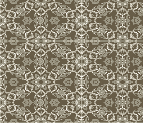 Twisted Thorns 4, L fabric by animotaxis on Spoonflower - custom fabric