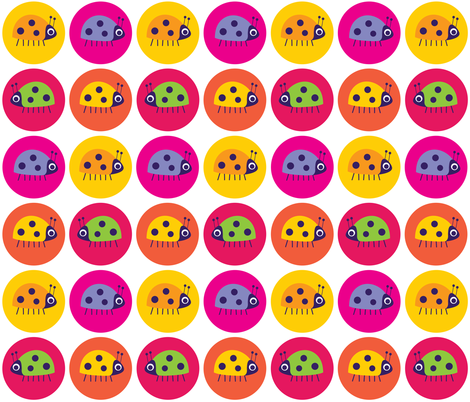 BugSpots (Hot Spot) fabric by spellstone on Spoonflower - custom fabric