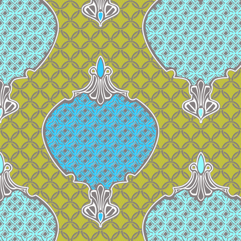 romano 4 fabric by glimmericks on Spoonflower - custom fabric