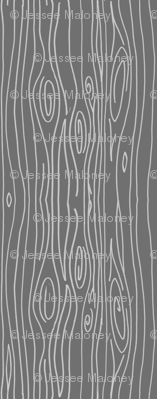 Wonky Wood - Calming Grey