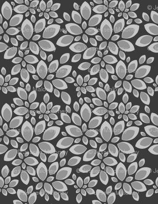 Leaves - Grey