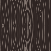 Wonky Wood - Dark Brown