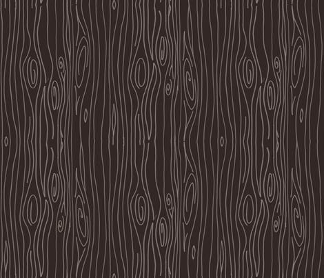 Wonky Wood - Dark Brown fabric by jesseesuem on Spoonflower - custom fabric