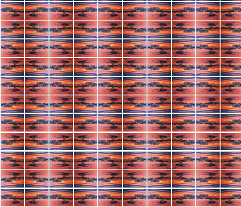 Hawaiian_sunset fabric by forever_art_by_aisha on Spoonflower - custom fabric