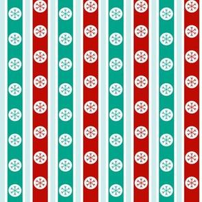 Snowflake Stripe - Retro Colourway