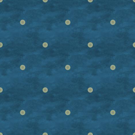 peacock_dot fabric by nicoletamarin on Spoonflower - custom fabric