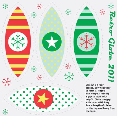 Retro Globe-Brights fabric by giddystuff on Spoonflower - custom fabric