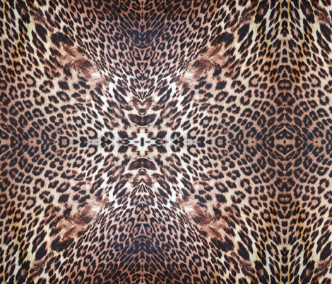 Exotic Leopard Print fabric by peacefuldreams on Spoonflower - custom fabric