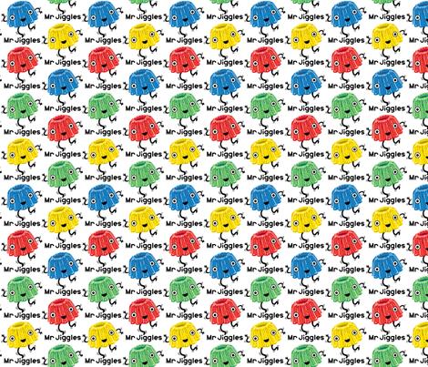 Mr Jiggles - jello fabric by andibird on Spoonflower - custom fabric