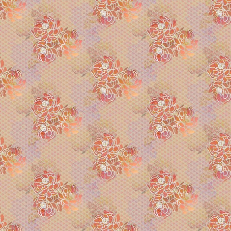 Floral Romantic fabric by joanmclemore on Spoonflower - custom fabric