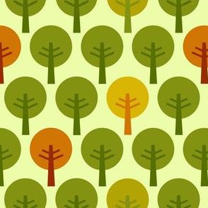 SteffFabrics Forest Green