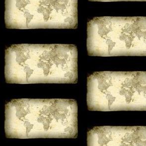 Steampunk Map, S