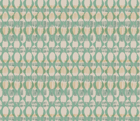 Green Simplicity Pods fabric by gsonge on Spoonflower - custom fabric
