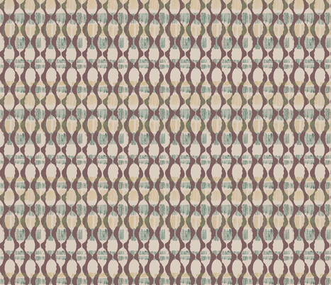 Purple Brown Abstract Pods fabric by gsonge on Spoonflower - custom fabric