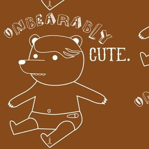 Unbearably Cute-Brown