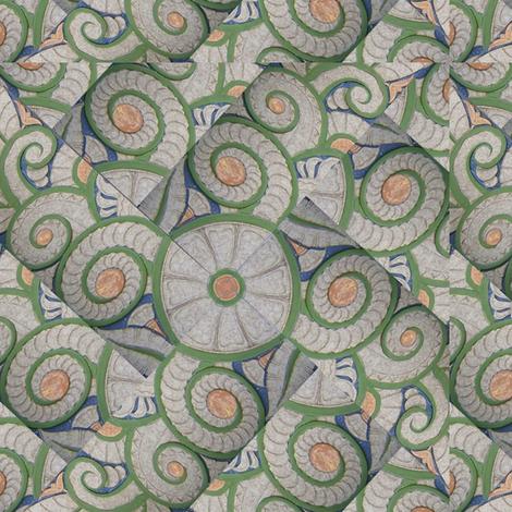 Art Deco Twirl fabric by pad_design on Spoonflower - custom fabric