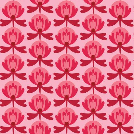 lillired fabric by lilliblomma on Spoonflower - custom fabric
