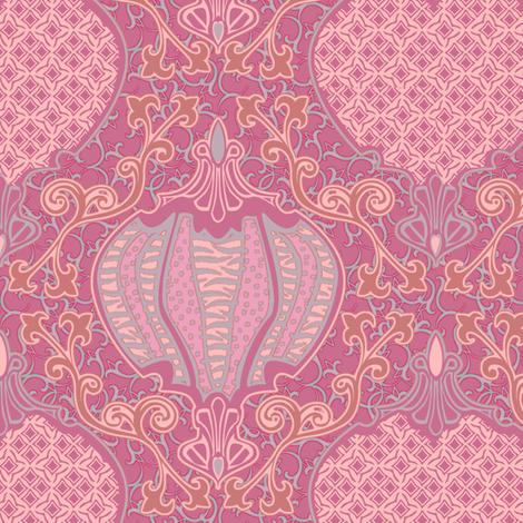 romano 31 curvy fabric by glimmericks on Spoonflower - custom fabric