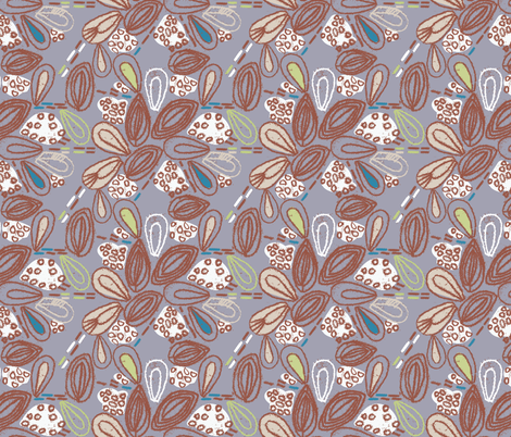 Seedlings fabric by gsonge on Spoonflower - custom fabric