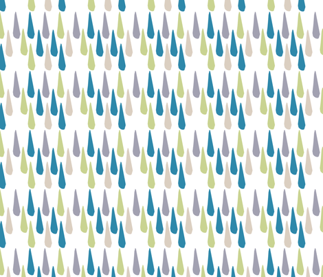 Colorful Drops fabric by gsonge on Spoonflower - custom fabric