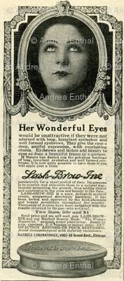 1918 Eye Cosmetics Advertisement