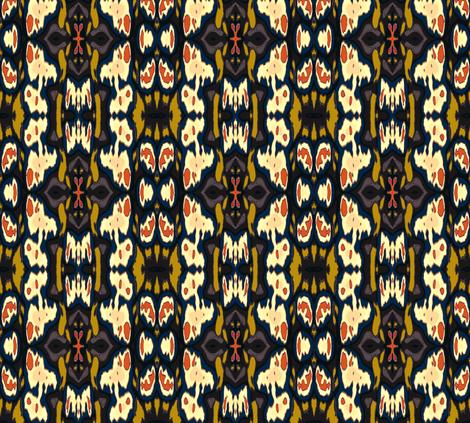 Sherlock Holmes' Study fabric by susaninparis on Spoonflower - custom fabric