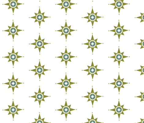 Fun Star fabric by brainsarepretty on Spoonflower - custom fabric