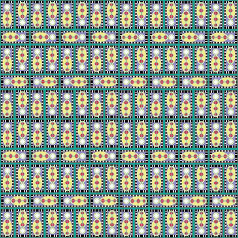 bug_me_-_green fabric by maplewooddesignstudio on Spoonflower - custom fabric